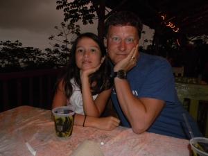 Chris and Kara at the Jolly Roger