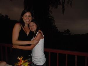 Kara and I at the Jolly Roger