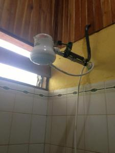 Electric shower in our master bath