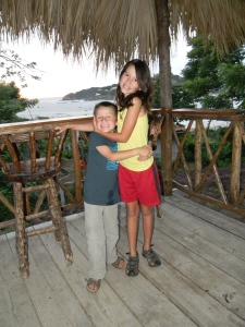 "The kids enjoyed hanging out in the roof top ""Rancho"" at Casa Mamacitas."