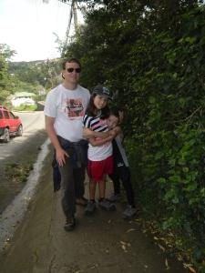 We walk everywhere in Monteverde!