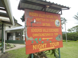 Trailhead at Hidden Valley Trail