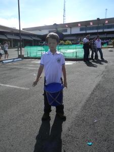 "Tristan is ready for ""Mini-Banda"""
