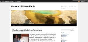 Humans of Planet Earth (H.O.P.E)