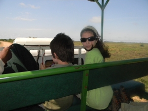 We took a 3 hour truck drive from Southwild Pantanal Lodge to Port de Joffre.