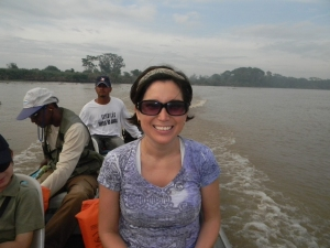 I liked boating through the wider main river instead of the shallow channels. It was breezier and there were less bugs.