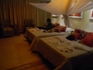 """The last two nights at the Southwild Jaguar """"Flotel"""", the owner let us use one of the suites. Very fancy!"""