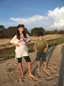 On our last full day on the river, Paolo let us run around on a small beach. It felt so good to stand on solid ground.