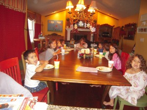 Thanksgiving 2009, Villa Hills, KY
